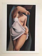 TAMARA DE LEMPICKA 'FEMME NUE' RARE 2003 ART PRINT