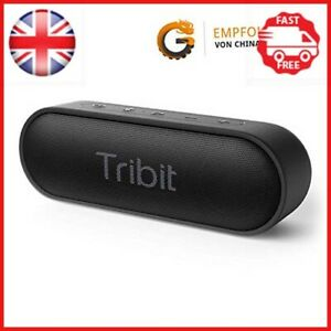 Altavoces Bluetooth, Altavoz portátil 12W tribit Xsound ir fuerte sonido estéreo, 24