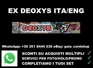 No Lotto//Holo//Reverse//Promo//GX//Turbo** ** Pokèmon EX Deoxys
