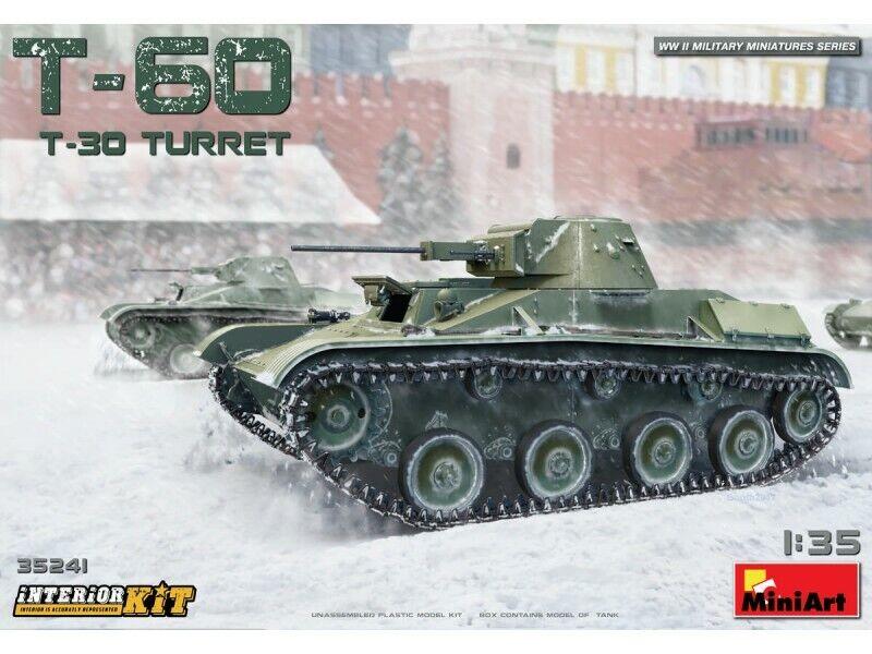 MINIART 1 35 T-60 (T-30 Turret) SCATOLA DI MONTAGGIO