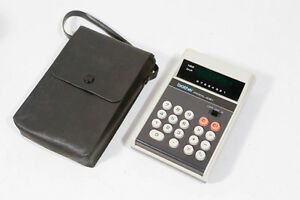 Brother ProCal 408Y Calc Calculator Calculador Ultra RARE Pro CAL 408 + Case