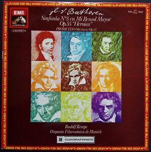 Beethoven - Symphony No. 3, RUDOLF KEMPE, EMI QUADRO