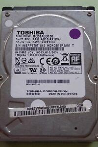 Toshiba MQ01ABD100 AAR AB10/AX1P5J   14 Sep 2016   PCB: G003235C   1TB #12