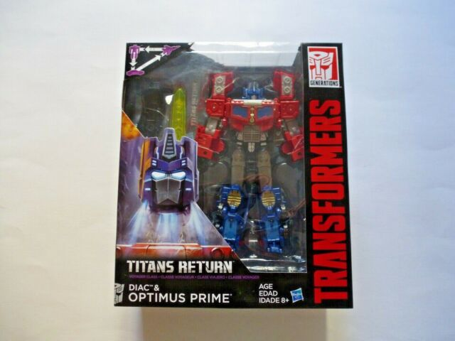 Transformers Titans Return Optimus Prime and Diac Hasbro 2016