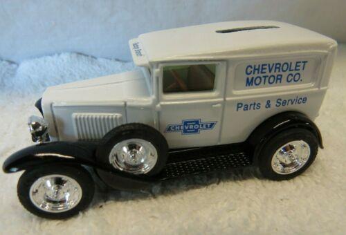 Ertl 1930 Chevrolet Motor Co Parts /& Service 9932 Diecast Dime Bank 1//43 NIB