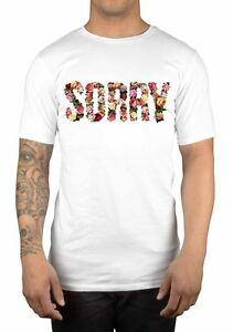 Image Is Loading Sorry Flowers Graphic T Shirt Dope Geek Nerd
