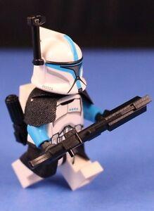 lego® star wars™ 75085 blue clone lieutenant™ deluxe  all accessories  armor 695639221645 | ebay
