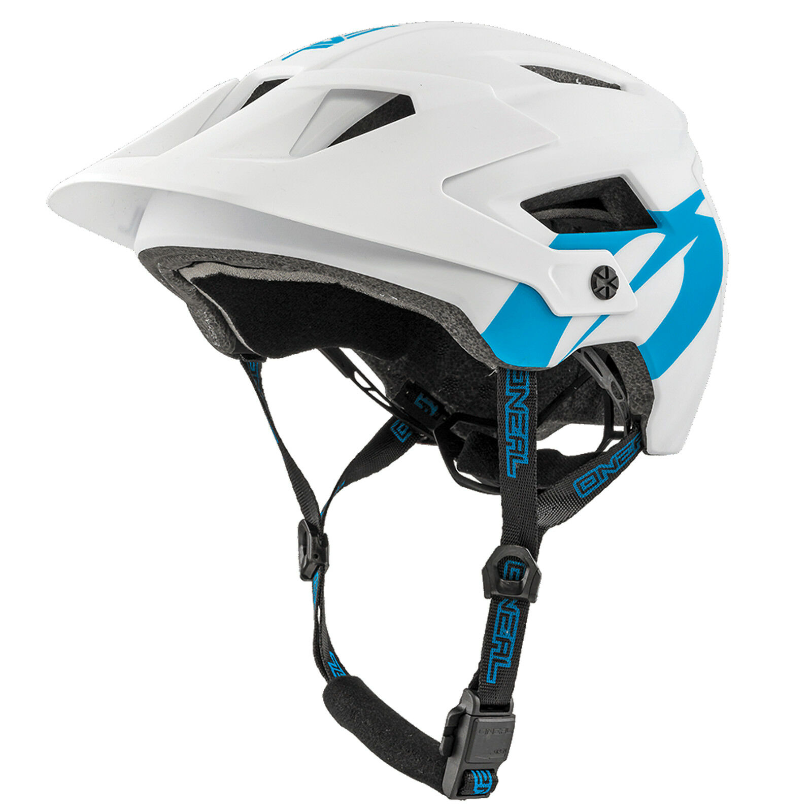 O 'neal defender 2.0 Solid All mountain MTB bicicleta casco blancoo azul 2019 oneal