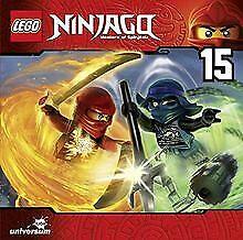 LEGO-Ninjago-cd15-di-LEGO-Ninjago-Masters-of-Spinjitzu-CD-stato-bene