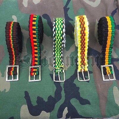 Artigianale Reggae Rastafari Rasta Cjamaica Cintura Selassie Marley Irie Roots