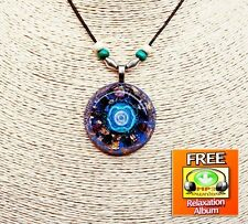 Orgonite Pendant, Orgone Pendant, Orgonite Necklace For Spiritual Development
