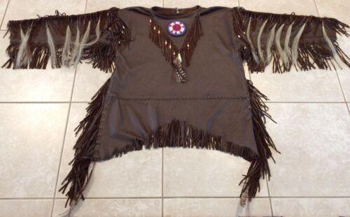 Native American Leather War Shirt