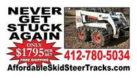 Over The Tire Skid Steer Tracks For All Skid Steers Only $1795 W/ Free Shipping