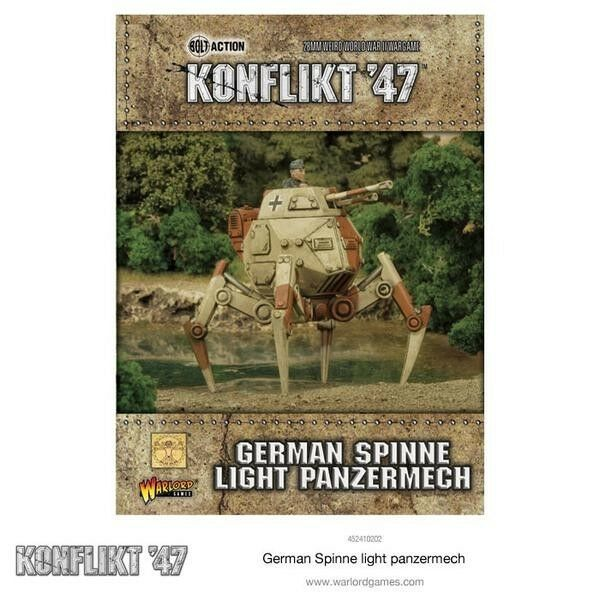 Warlord Games - Konflikt 47 German Spider Light panzermech WW2 1947 Germany