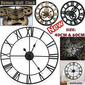 EXTRA-LARGE-ROMAN-NUMERALS-SKELETON-40-60CM-WALL-CLOCK-BIG-GIANT-OPEN-FACE-ROUND