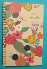 2020 2021 Monthly Weekly Large See It Bigger Bloom Pink Contact Password Planner