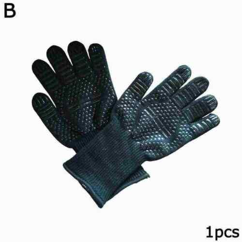 Details about  /Barbecue Grilling Cooking Gloves Extreme Heat Resistant Safe Gloves Welding P9F6