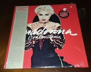 LP-MADONNA-You-Can-Dance-1987-Sire-25535-Near-Mint-in-shrink-OBI-Hype-Sticker