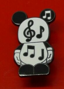Used-Disney-Enamel-Pin-Badge-Vinylmation-Music-Note-Design