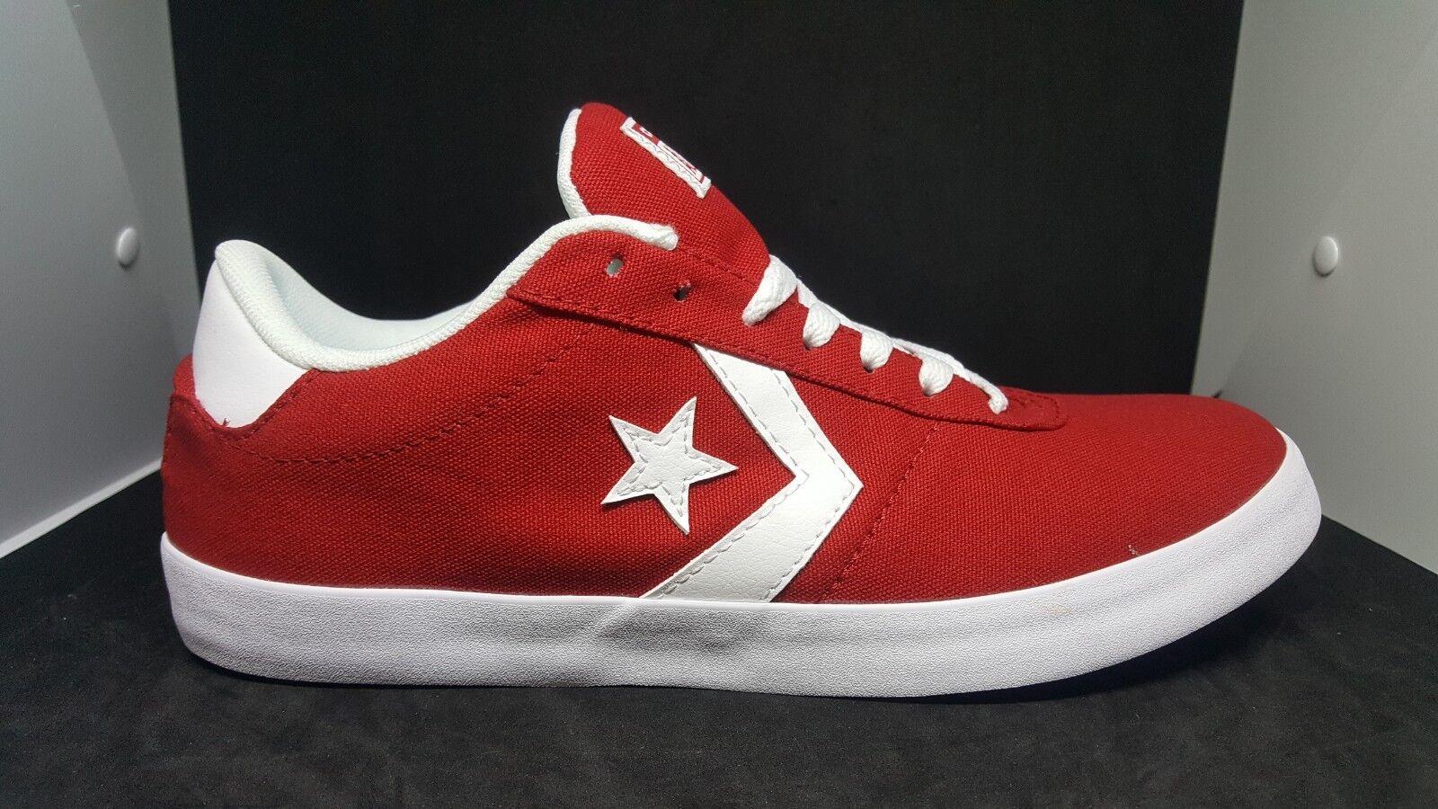 Tenis De Lona Converse Rojo/blanco, Punto Estrella Gimnasio Rojo/Gimnasio Rojo/blanco, Converse para hombres 8para mujer 9.5 f24498