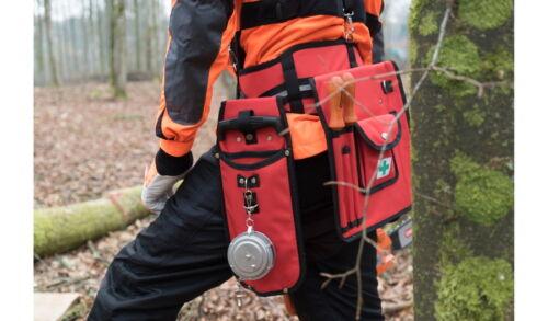 Arbeit OREGON Werkzeuggürtel Trägern und Kombitasche 4 Holster für Forst Wald