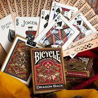 BICYCLE DRAGON GOLD PLAYING CARDS DECK MAGIC TRICKS POKER USPCC SEALED BRAND NEW
