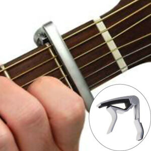 Perfetto-Chitarra-acustica-Argento-capotasto-E2K3