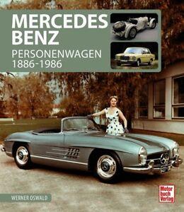 Mercedes-Benz-Personenwagen-1886-1986-Typen-Modelle-Geschichte-Bildband-Buch
