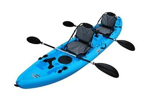 Details About Bkc Uh Tk219 Us 12 Foot 2 Inch Tandem Sit On Top Kayak 2 3 Person 2 Paddles 2