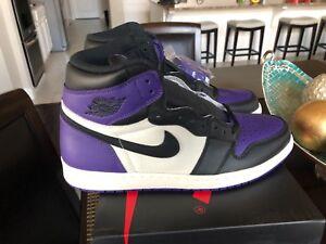a881ec9a411b5c Image is loading Air-Jordan-1-Retro-High-OG-Court-Purple-