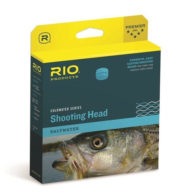 RIO Coldwater Outbound Short Shooting Head - ST7S6 - Sink Type 6 - New