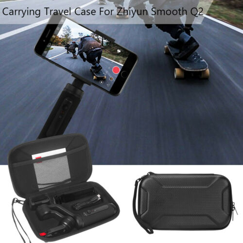 For Zhiyun Smooth Q2 Travel Carrying Stroage Bag Cover Case with Lanyard Strap