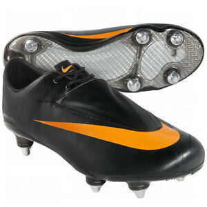 acheter populaire d35b8 b8084 Nike Mercurial VAPOR VI SG Soccer SHOES Black/ Orange Brand ...