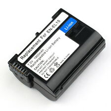 Full code EN-EL15 ENEL15 Battery for Nikon D7000 D800 D800E D600 1 V1