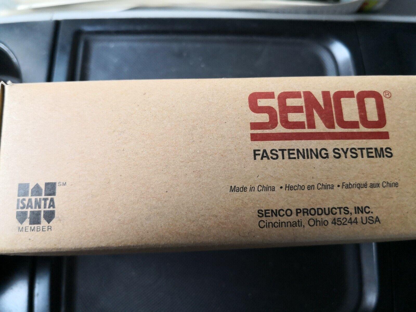 Senco J08BAAN 1//2 X 7//16 18Ga Galvanized Staple 5000 Per Box
