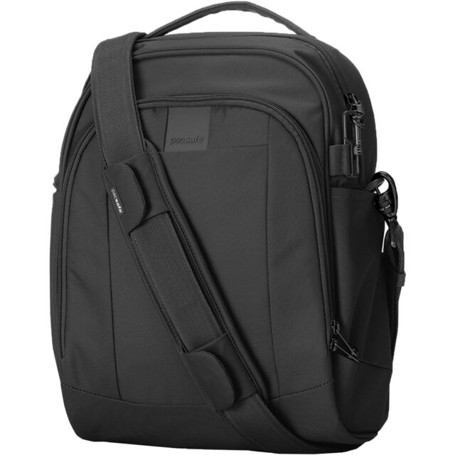 Pacsafe Metrosafe Ls250 Anti Theft Shoulder Bag Black