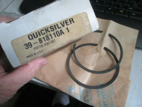 Quicksilver 39-818110A 1 Piston Ring Set Mercury Factory OEM Part