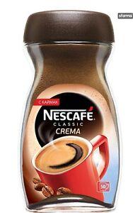 NESCAFE Classic CREMA Instant Coffee 50 Cups Jar 100g 3.5oz | eBay