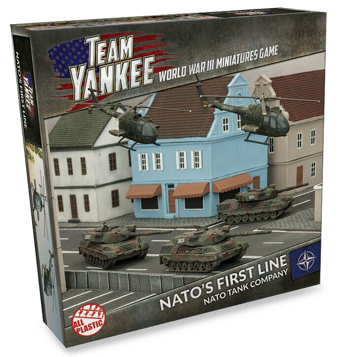 NATO'S FIRST LINE  NATO TANK COMPANY - TEAM YANKEE - TNAAB1 - SHIPPING NOW