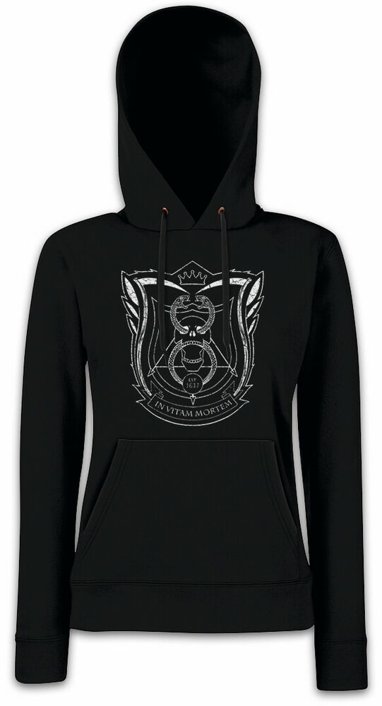 Deadly School Femmes Hoodie Capuche Sign Logo Class Master Marcus école-r Sign Logo Class Master Marcus Schule