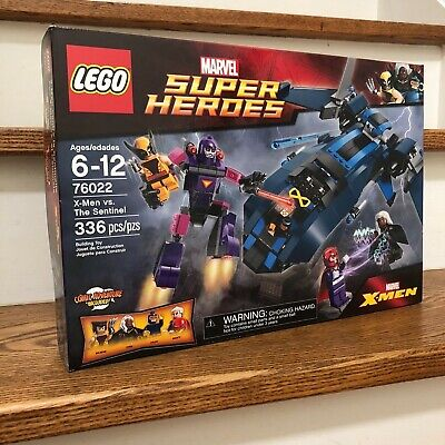 X-Men vs LEGO Super Heroes The Sentinel Building Play Set 76022 NEW Retired