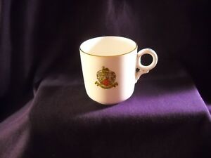 Vtg-Florentine-China-Made-in-England-2-7-8-034-Cup-County-Borough-of-Hanley-Mint