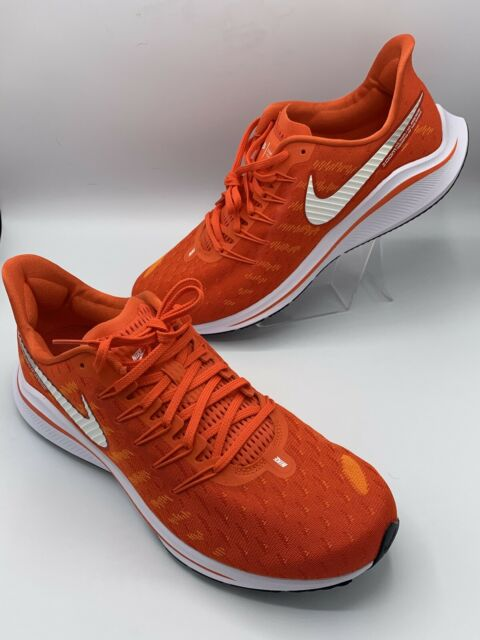 Nike Air Zoom Vomero 14 Men Running Shoes Clemson Orange CK1969-801 New 11.5