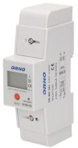 Stromzähler Drehstromzäher Zähler 1 oder 3-Phasen LCD Elektrozähler Digitaler