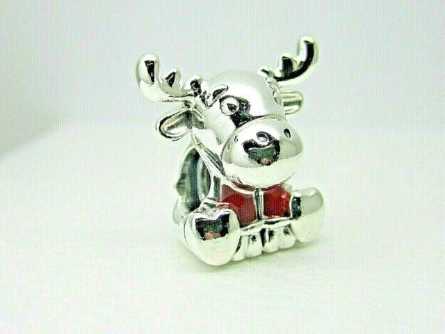 Authentic Pandora Canada Moose Maple Leaf Charm 798931c01 Bag Tag For Sale Online Ebay
