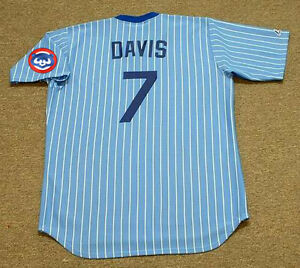 detailed look 44a24 cba0e Details about JODY DAVIS Chicago Cubs 1981 Majestic Cooperstown Throwback  Baseball Jersey