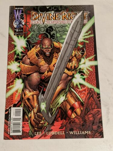 Details about  /Divine Right The Adventures Of Max Faraday #9 July 1999 DC Wildstorm Comics