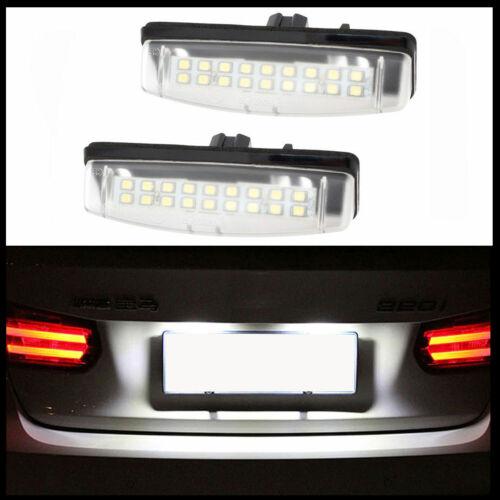 LED Kennzeichenbeleuchtung für Toyota Camry Aurion Avensis Verso Echo Prius
