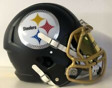 Pittsburgh Steelers Full Size Football Helmet Decals Pittsburg authentic logo
