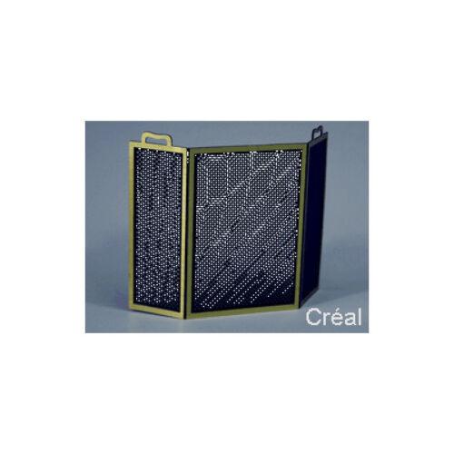 # Creal 767011 Kaminschild Kamin Schirm Metall 1:12 für Puppenhaus NEU